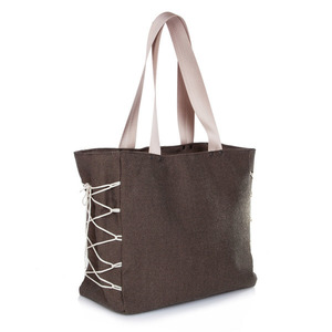 Friday Tote Bag - ύφασμα, κορδόνια, ώμου, tote, all day, μεγάλες