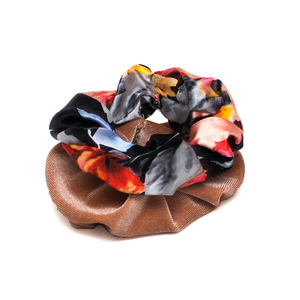 Scrunchies Σετ Floral