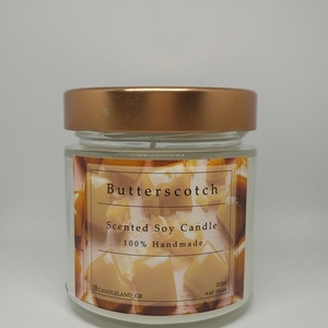 Butterscotch 100% Soy Scented Candle 212ml