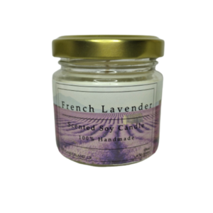 French Lavender 100% Soy Scented Candle 106ml