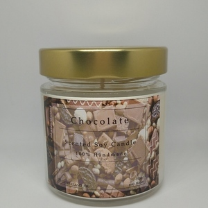 Chocolate 100% Soy Scented Candle 212ml