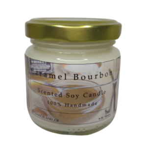 Caramel Bourbon 100% Soy Candle 106ml