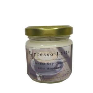 Espresso Latte 100% Soy Scented Candle 106ml