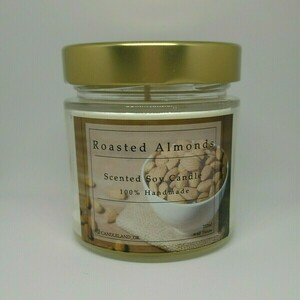 Roasted Almonds 100% Soy Candle 212ml