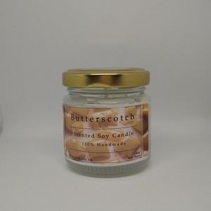 Butterscotch 100% Soy Scented Candle 106ml