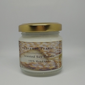 Caramel & Peanuts 100% Soy Candle 106ml